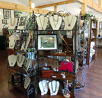 Over Home Creations Shop Interior-Gatlinburg, Tennessee